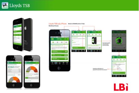 Lloyds Bank Mobile Button