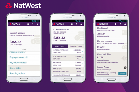 Nat West Android Case Study Button