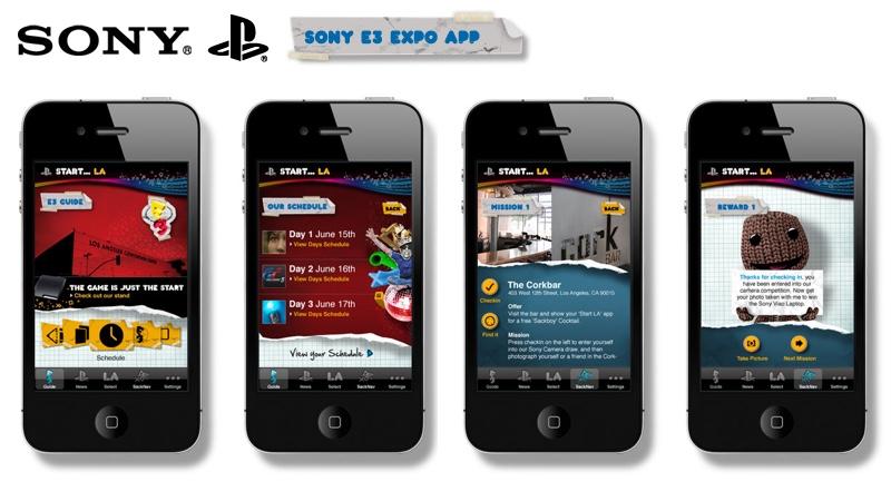 Sony E3 link button